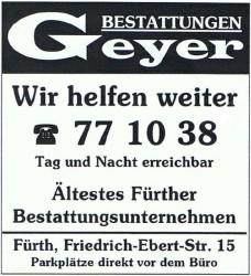 Bestattungen Geyer